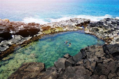 bathtubs hawaii photo diary queen s bath caves of kauai of wildest heart