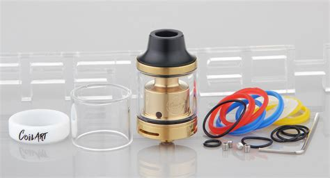 Mage Rta Stainless Steel Authentic 24mm 26 79 authentic coilart mage rta rebuildable tank atomizer 3 5ml 304 stainless steel