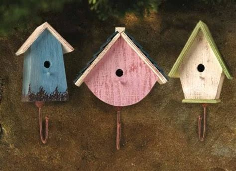 House Of Hook by Country Home Decor Bird House Hooks Country Cottage Wall