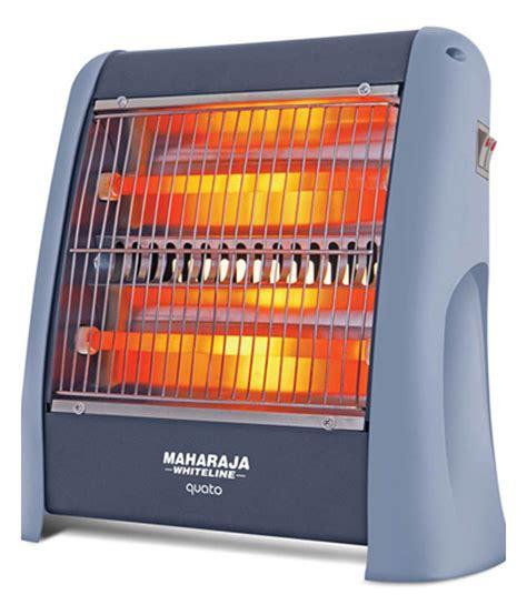 room heaters maharaja whiteline quato 800 watt quartz room heater buy maharaja whiteline quato 800 watt