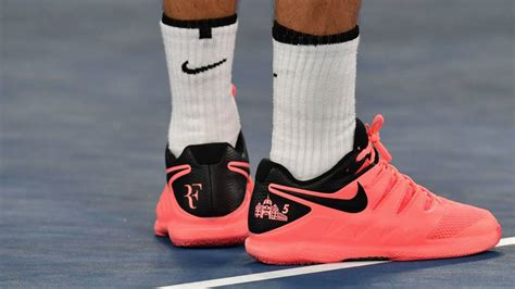 sports shoes melbourne the image roger federer really wanted on his tennis shoes