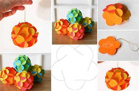 3d Decorations To Make Out Of Paper - creative ideas diy 3d paper ornament