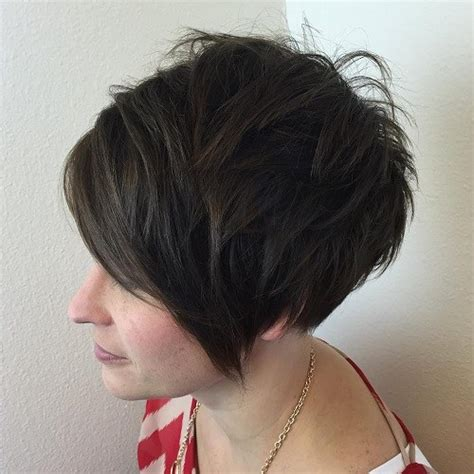 wedge with choppy layers hairstyle 60 short choppy hairstyles for any taste choppy bob