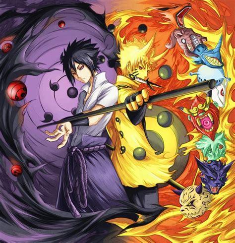 wallpaper naruto dan sasuke gambar poster naruto wallpaper vs sasuke uchiha lu kecil