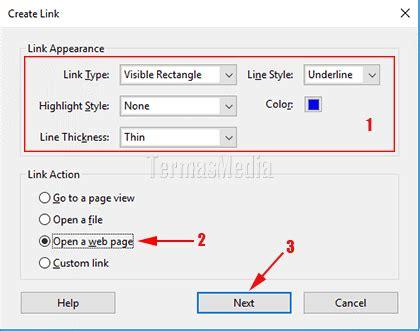 cara membuat link folder di html cara membuat tautan link di file pdf dengan adobe acrobat