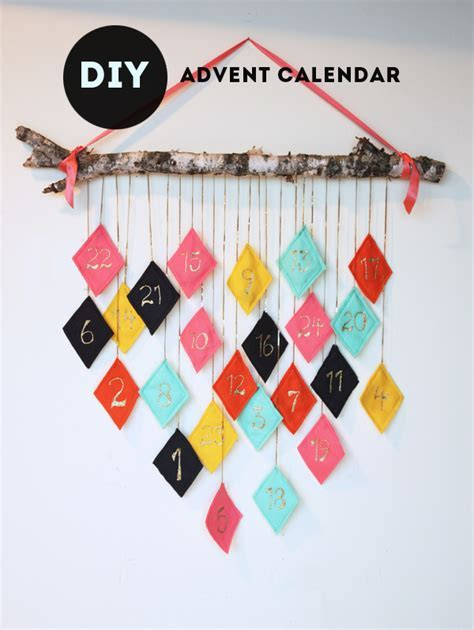 DIY Reusable Hanging Felt Fabric Advent Calendar   DIY Home Sweet Home