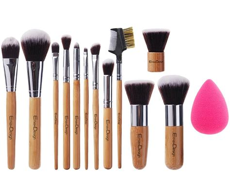 Busa Make Up Blender Make Up Brush 1 emaxdesign 12 1 pieces makeup brush set 12 pieces professional bamboo handle foundation