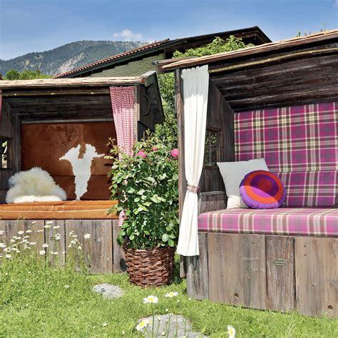 gartenideen mit strandkorb alpenstrandkorb der bayerische strandkorb alpen strand