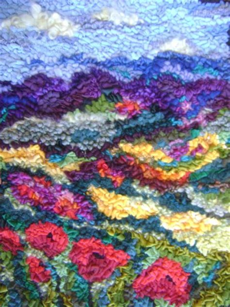 Rug Hooking Daily by Landscape Play Rug Hooking Daily Hooked Rugs