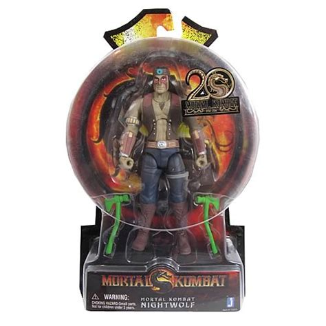 mk9 figures mortal kombat 9 6 inch nightwolf figure jazwares
