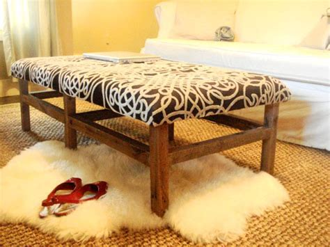 how to an ottoman from scratch 10 awesome diy ottoman ideas