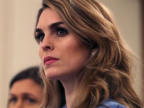hope hicks going to fox hope hicks lands a new job that may bring the president