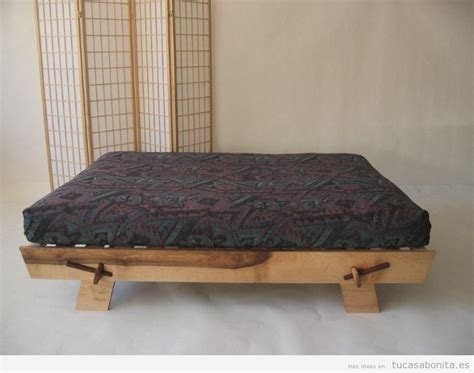 futon es camas estilo japon 233 s con fut 243 n para el dormitorio de