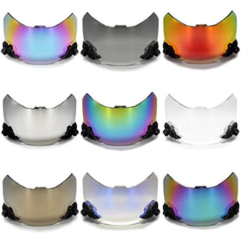colorful football visors shoc football visors and eyeshield for lacrosse helmets