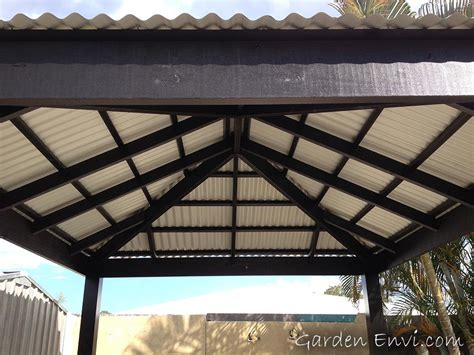 Sunjoy Royal Square Hardtop Gazebo Reviews Pergola Metal Roof Pergola