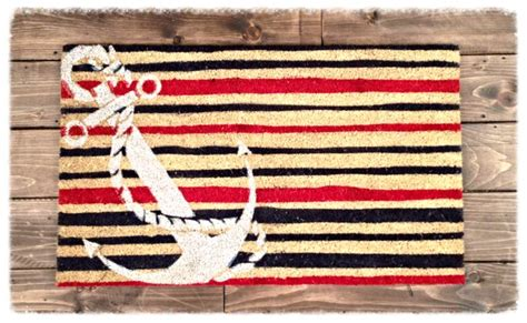 Nautical Door Mats by Door Mat Anchor Iluvmyboat Great Boat Door Mat To