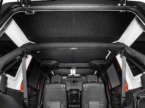 Jeep Jk Headliner Boom Mat Wrangler Sound Deadening Headliner Black 50137