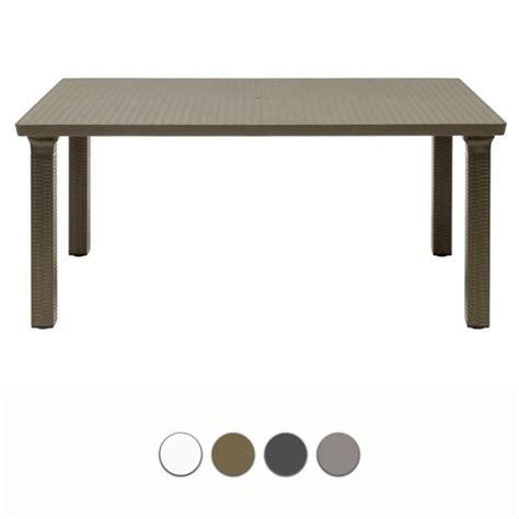 tavoli scab tavolo da giardino tavolone in resina by scab arredo