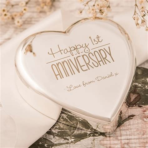 1st wedding anniversary gifts uk unique paper anniversary gifts 1st gettingpersonal co uk