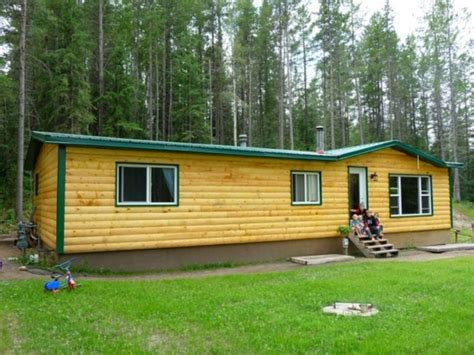mobile home log cabin storage shed or cabin in