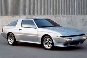 Chrysler Starion Mitsubishi Starion Esi R And Chrysler Conquest Tsi Oh