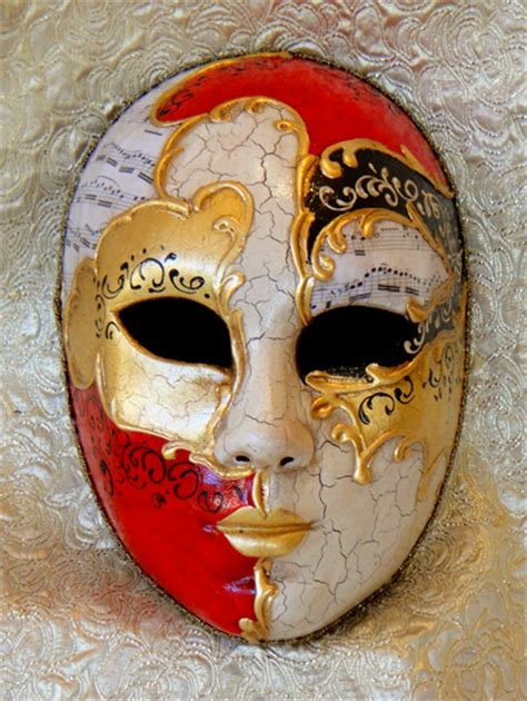 Decoupage Mask - vivaldi size mask painted italian