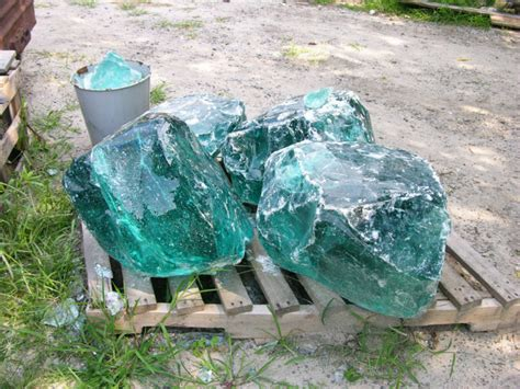 Glass Rocks Garden Decoration by Landscaping Large Glass Rocks Buy Decorative Glass Rocks