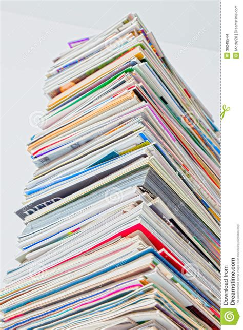 color stack stack of magazine hdr color stock photo image of