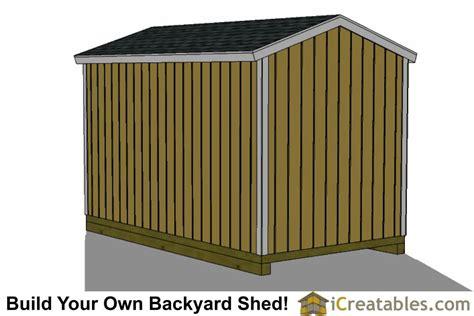 8x14 backyard shed plans 8x14 storage shed plans