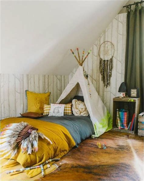 native american bedroom design styling boho for kid s bedrooms
