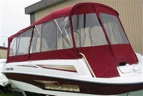 bimini tops for sea doo boats sea doo islandia 2003 bimini top cer top enclosure