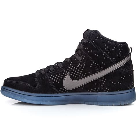 nike flash shoes nike dunk high premium flash sb shoes black clear black