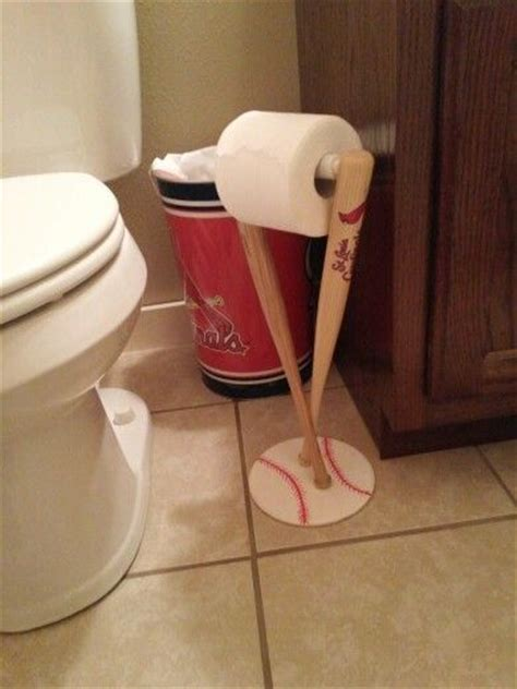 baseball bathroom accessories cardinals baseball toilet roll holder bathroom