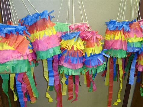How To Make A Paper Bag Pinata - paper bag pinatas made with brown paper lunch bags and