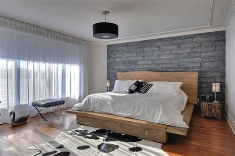 modern rustic bedroom modern rustic master bedroom contemporary bedroom montreal by carpette multi design