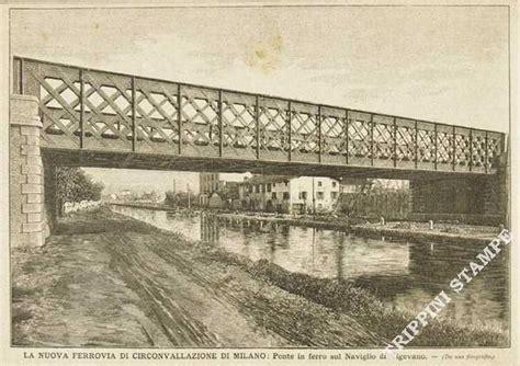 libreria vigevano la nuova ferrovia di circonvallazione di ponte di