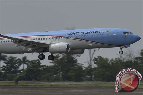 Pesawat Kepresidenan Ri Boeing 737 800ng pesawat kepresidenan indonesia foto antara news