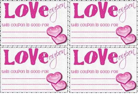 love coupon book template new calendar template site