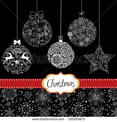 christmasornament template black and white search