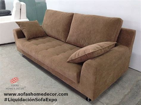 Liquidaci 243 N De Exposici 243 N De Fabrica Sof 225 S Home Decor Sof 225 3 Plazas Cama De Tela En Color Chocolate O Rojo Salto