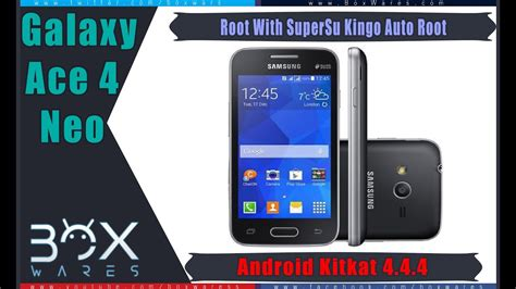 Galaxy V Ace 4 V how to root samsung galaxy ace 4 neo sm g318h ds 4 4 4