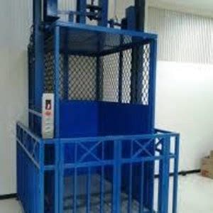 Lift Barang Cargo Lift Elevator sell cargo and freight elevator from indonesia by cv