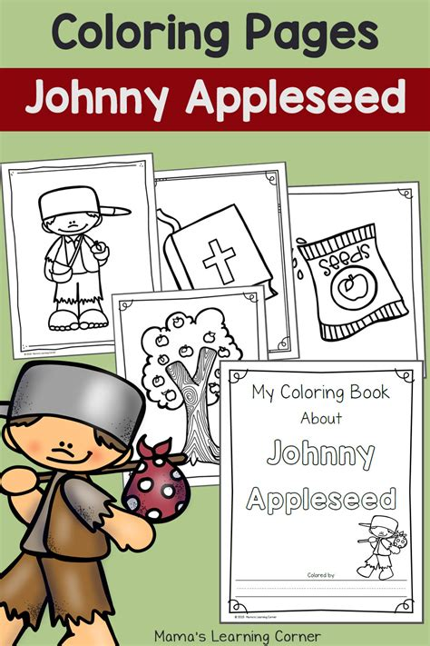 Free Coloring Pages Of Johnny Appleseed Johnny Appleseed Coloring Pages