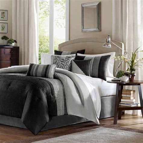 madison park comforter amherst black by madison park beddingsuperstore com