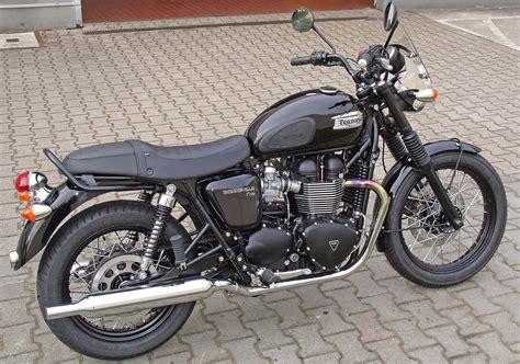Motorrad Umbau Riemenantrieb by Umgebautes Motorrad Triumph Bonneville T100 Black