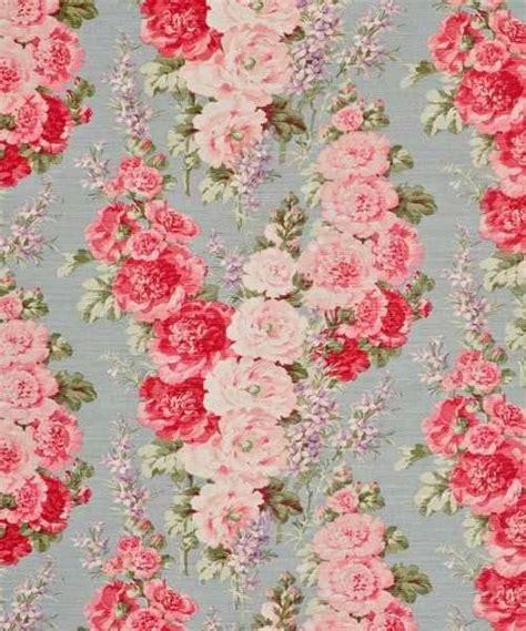 large flower wallpaper uk buy bennison hollyhock fabric online alexander interiors