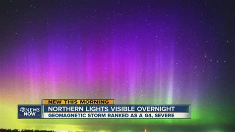 how do the northern lights last northern lights visible last