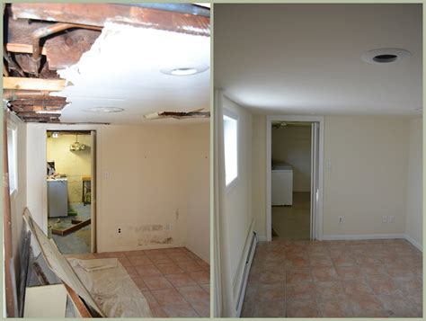 basement renovation painting drywall molding brookside nj