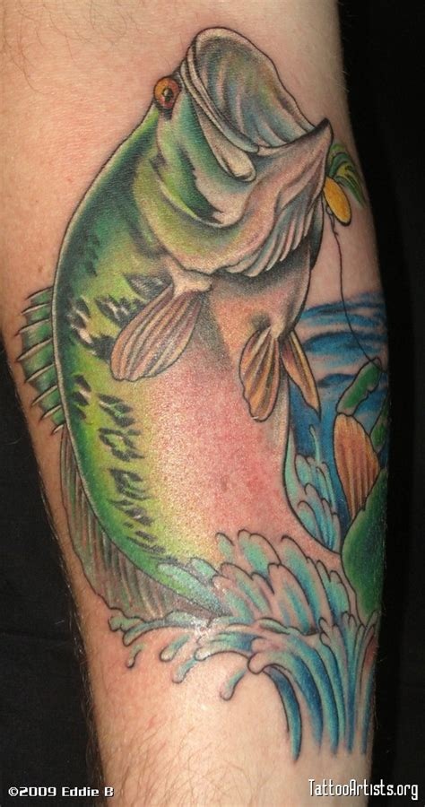 bass fishing tattoos bass fish artists org