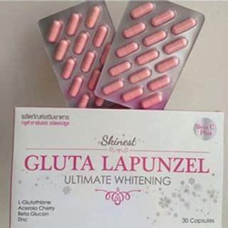 Daftar Gluta Lapunzel 5 suplemen pemutih kulit bpom aman dan paling terkenal
